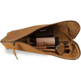 Leren make-up-tas Rai Large