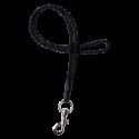 Leather hand braided keychain Lisa long