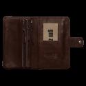 Leather phone wallet Zaza